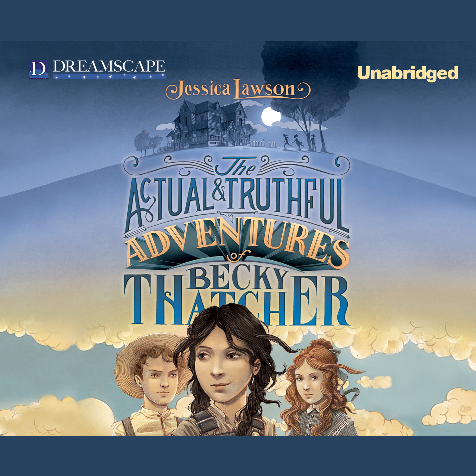 Printable The Actual & Truthful Adventures of Becky Thatcher Audiobook Cover Art