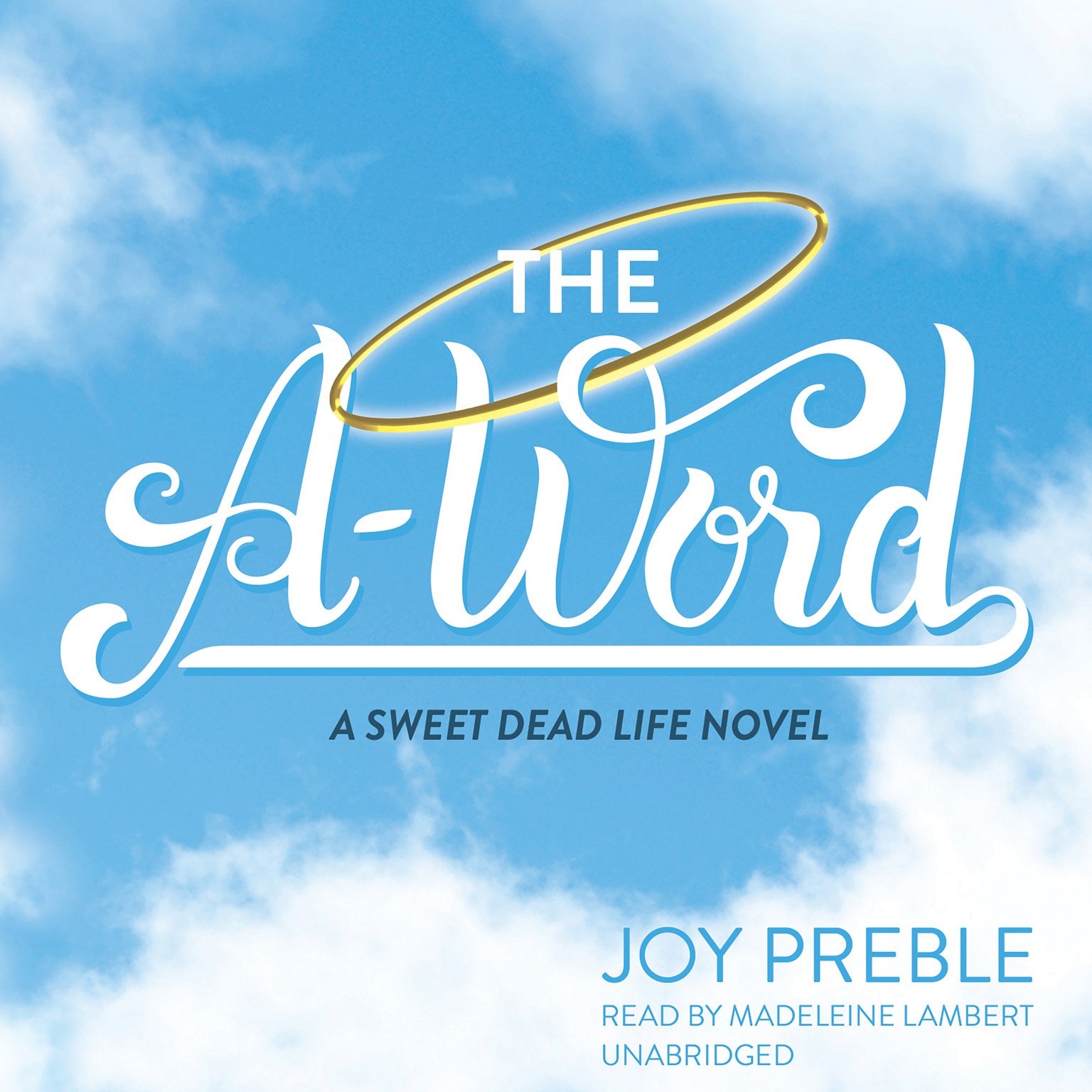 Printable The A-Word Audiobook Cover Art