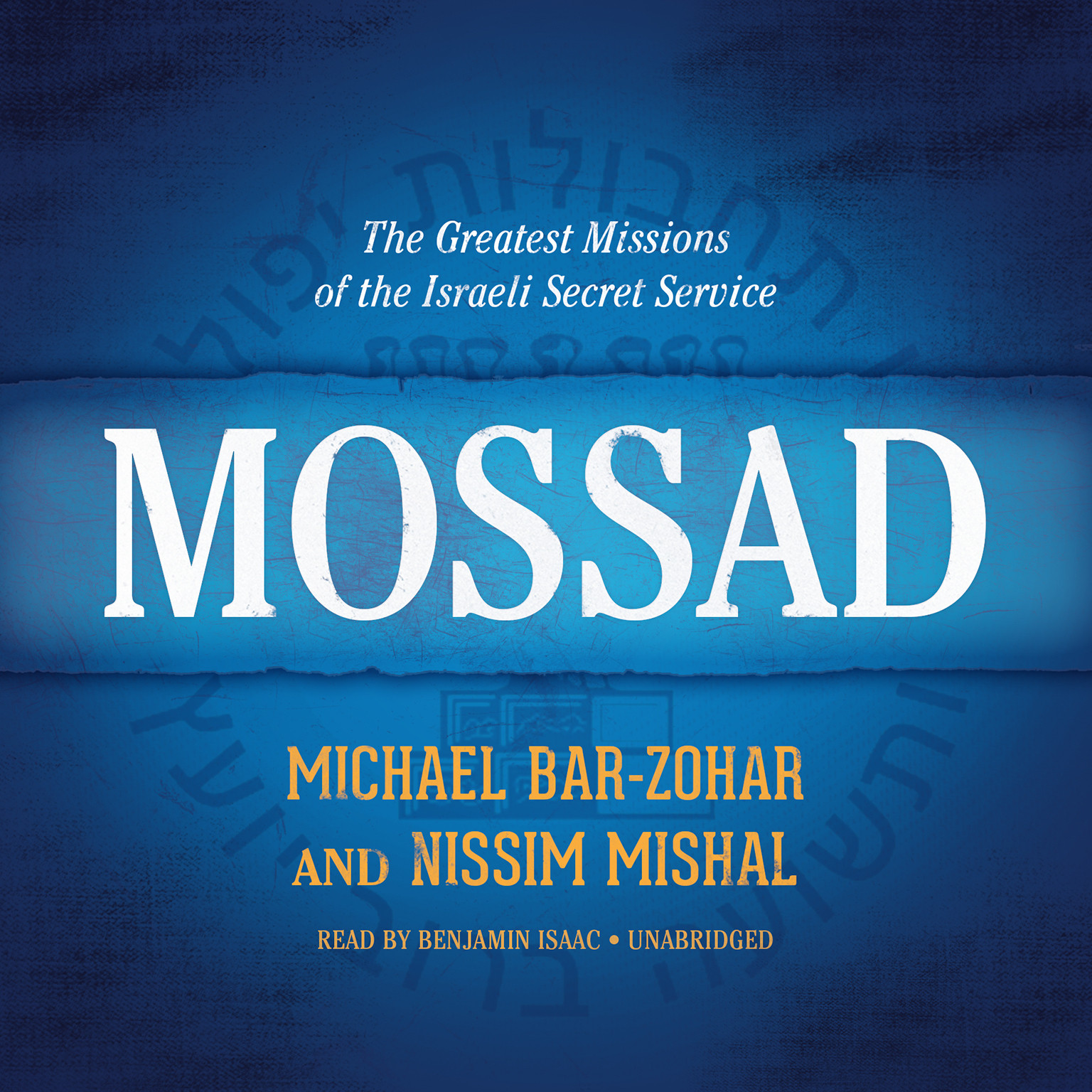 Printable Mossad: The Greatest Missions of the Israeli Secret Service Audiobook Cover Art
