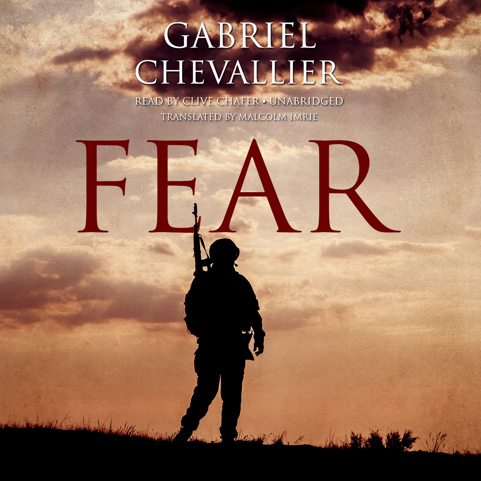 Printable Fear Audiobook Cover Art