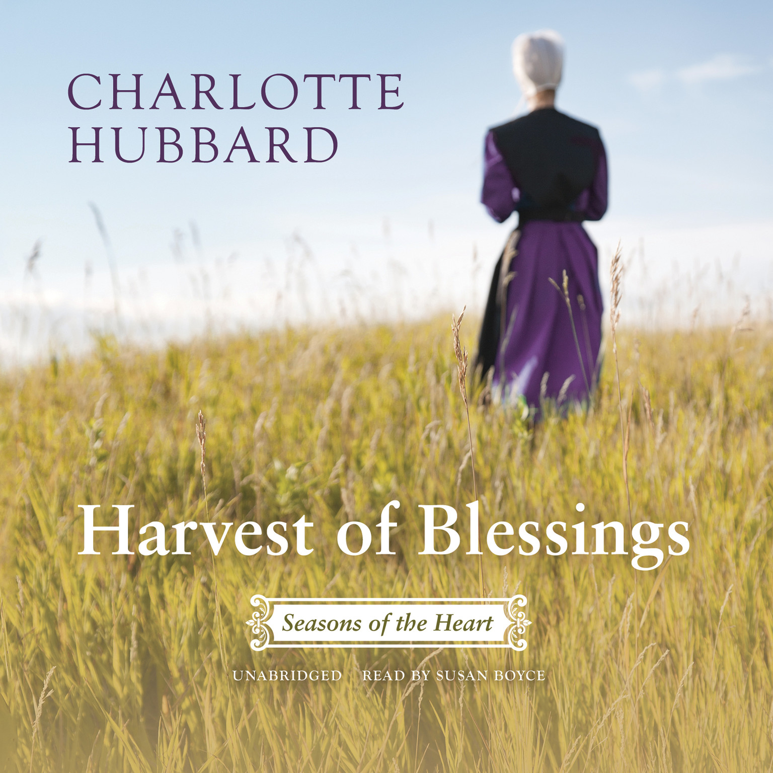 Printable Harvest of Blessings Audiobook Cover Art