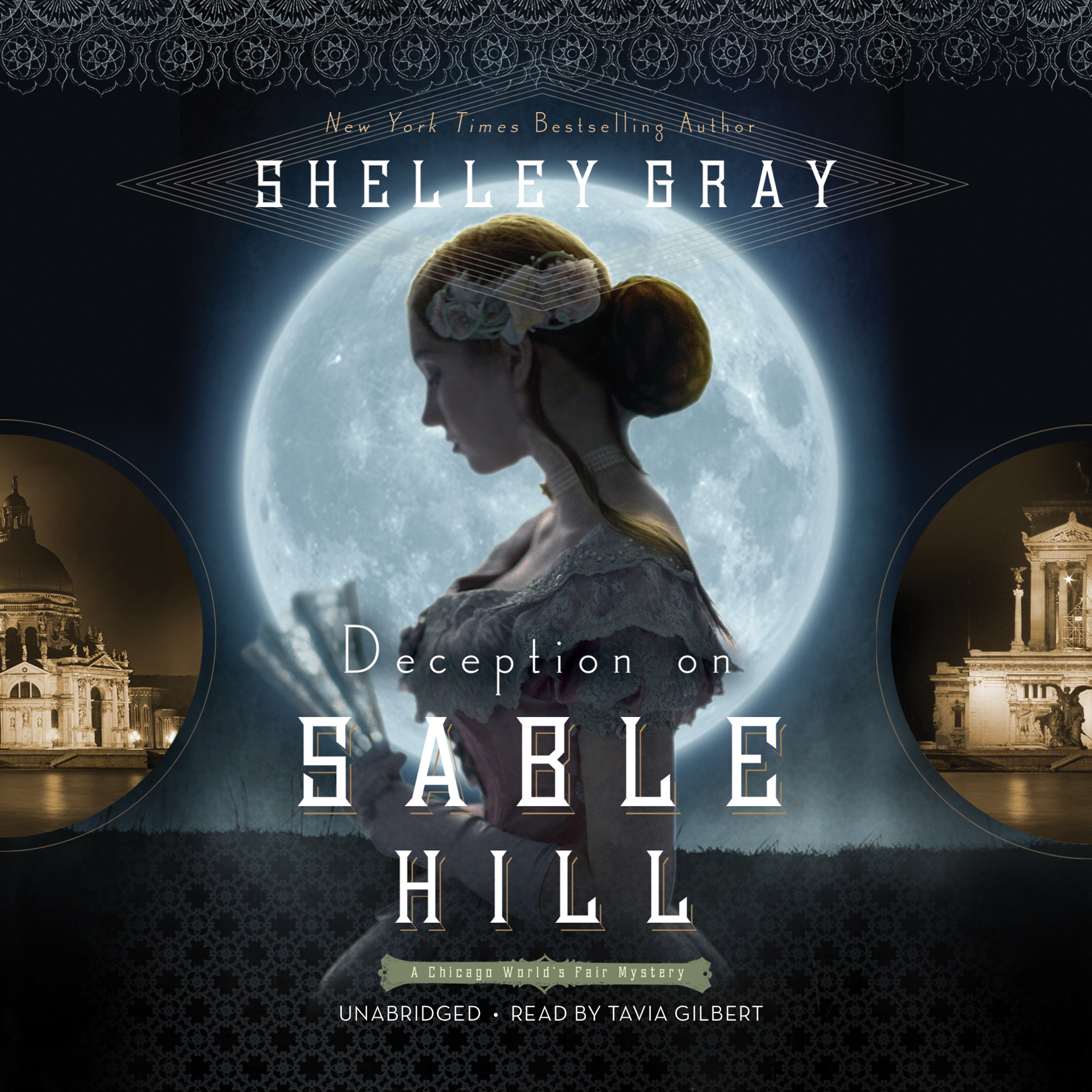 Printable Deception on Sable Hill Audiobook Cover Art