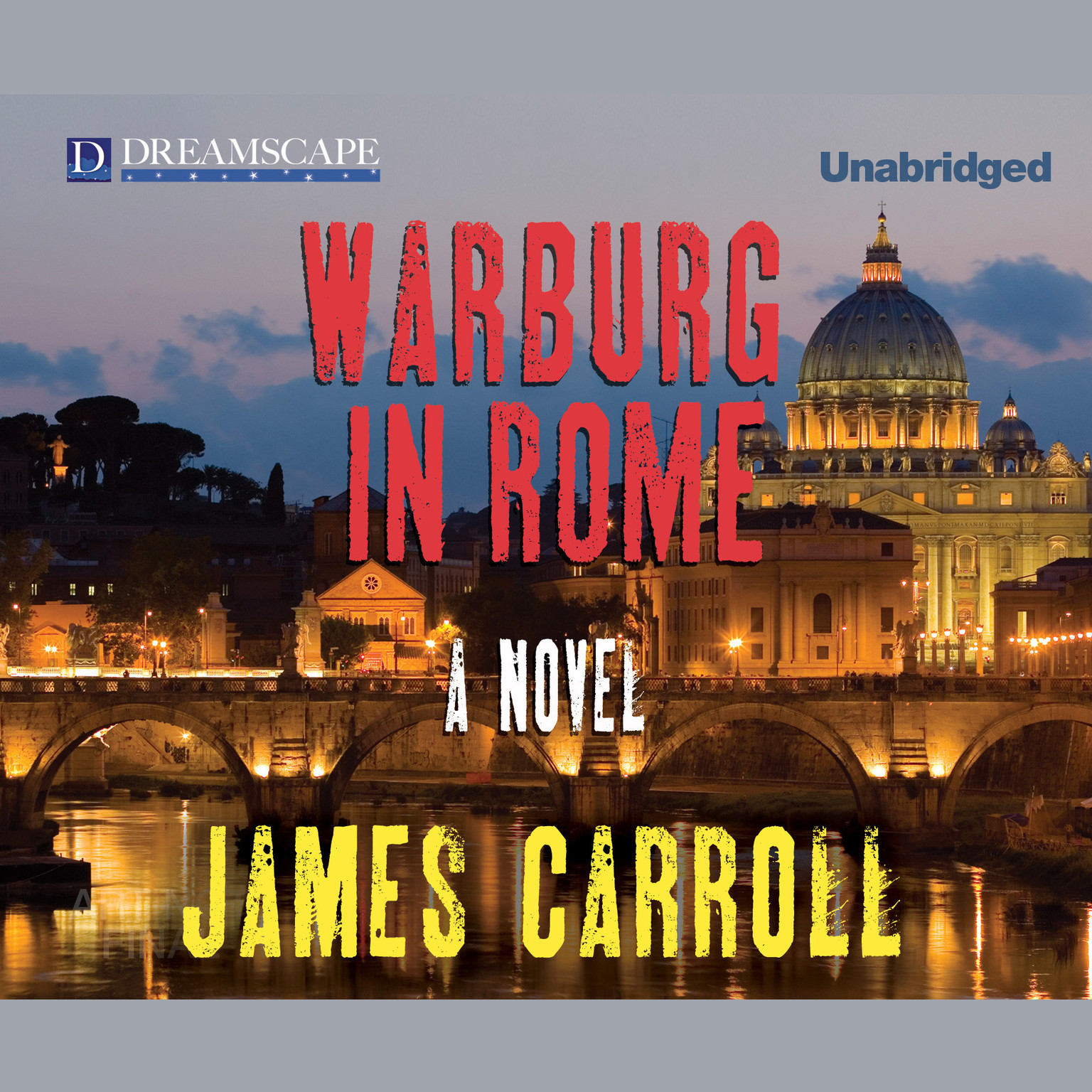 Printable Warburg in Rome Audiobook Cover Art