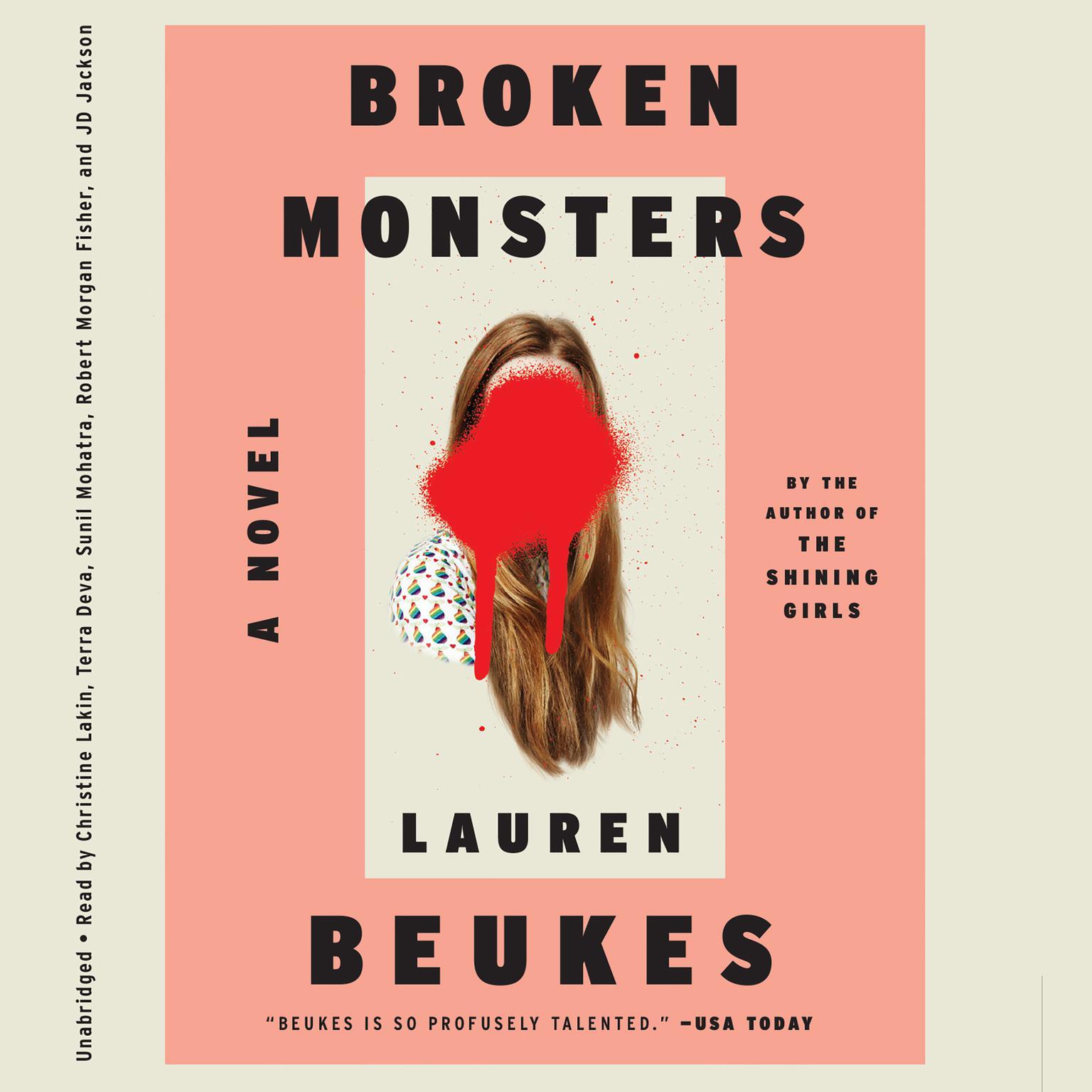 Printable Broken Monsters Audiobook Cover Art