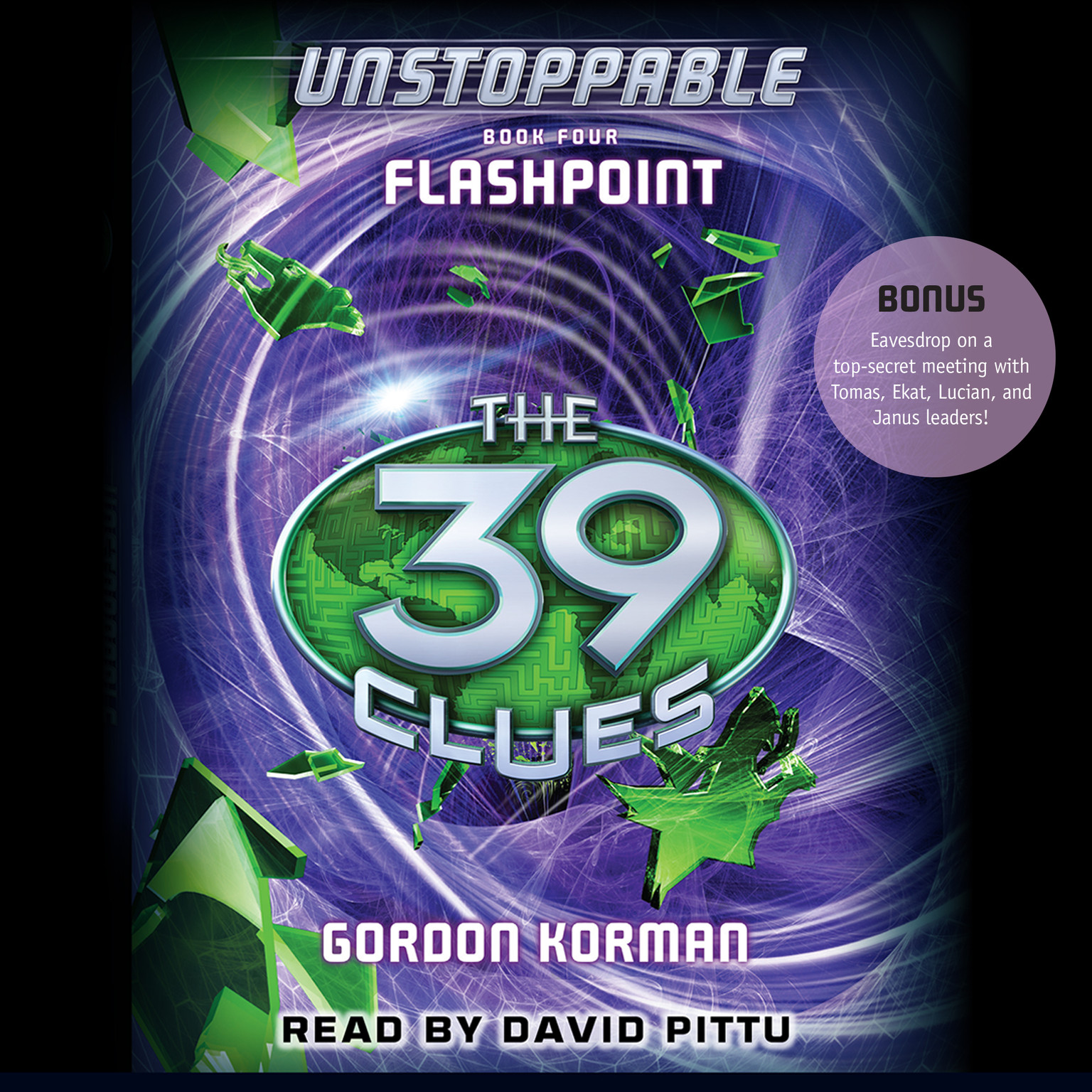 Printable Flashpoint Audiobook Cover Art