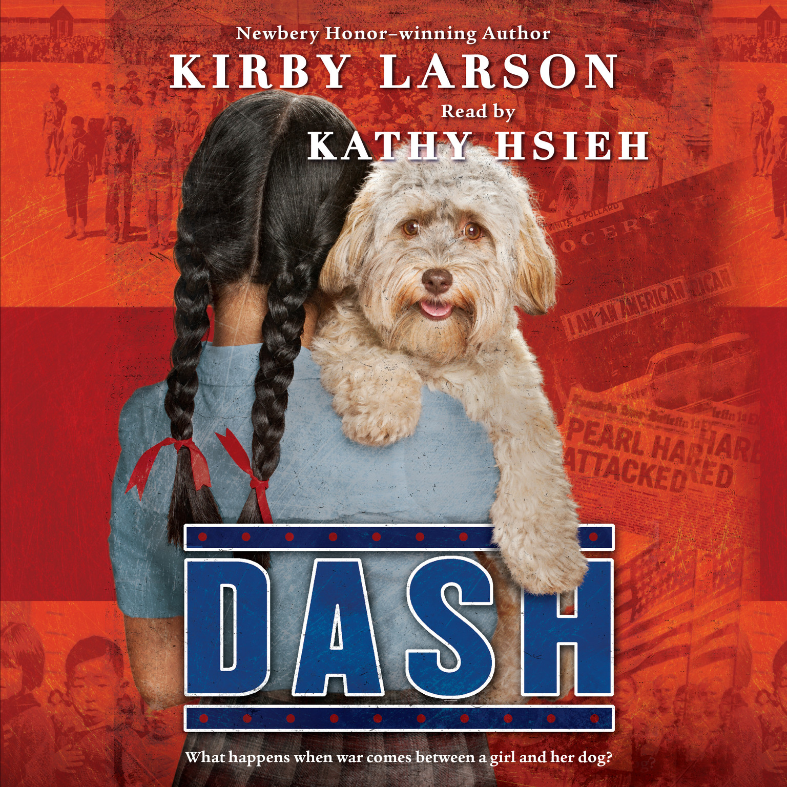 Printable Dash Audiobook Cover Art