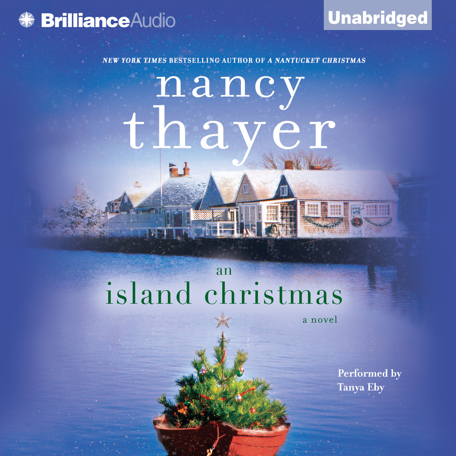 Printable An Island Christmas: A Novel Audiobook Cover Art