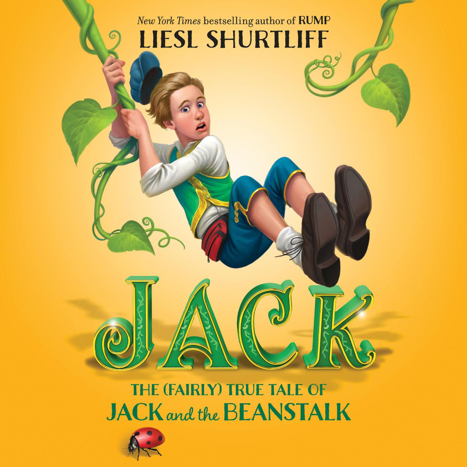 Printable Jack: The True Story of Jack and the Beanstalk Audiobook Cover Art