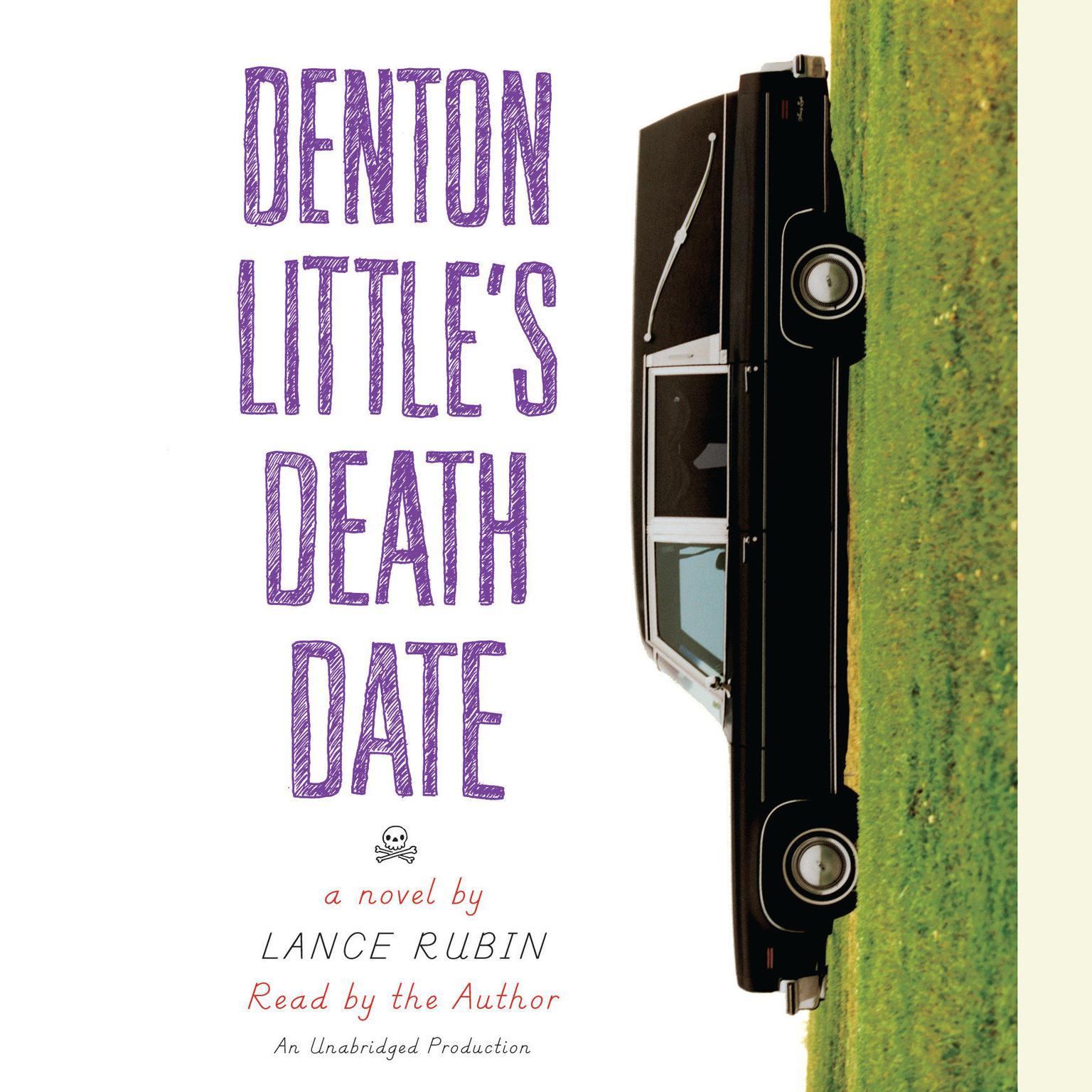 Printable Denton Little's Deathdate Audiobook Cover Art
