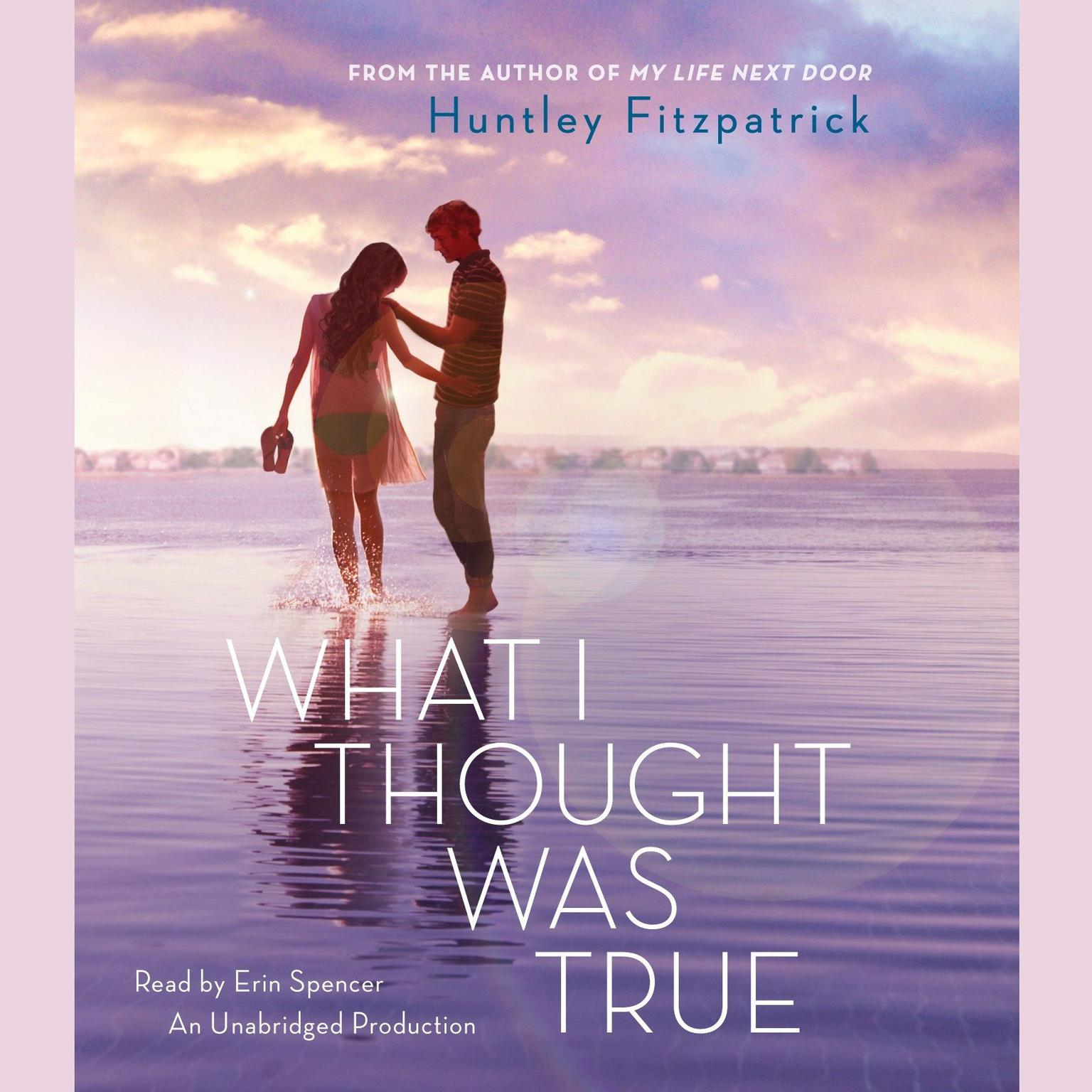 Printable What I Thought Was True Audiobook Cover Art