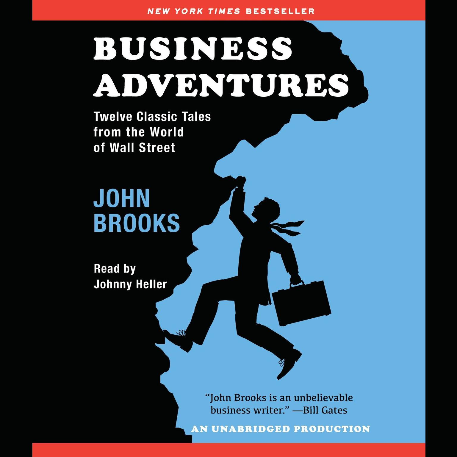 Printable Business Adventures: Twelve Classic Tales from the World of Wall Street Audiobook Cover Art
