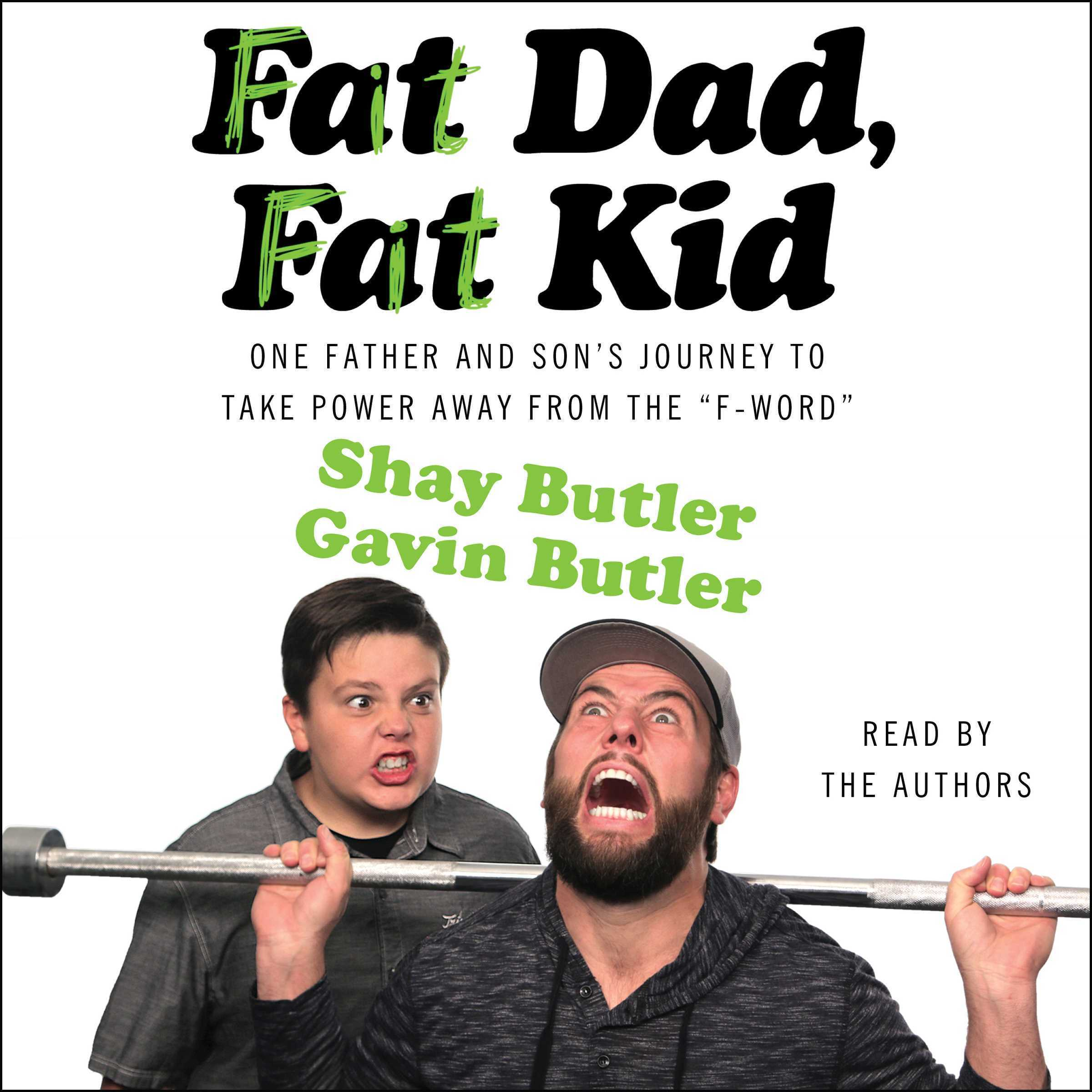 Printable Fat Dad, Fat Kid Audiobook Cover Art