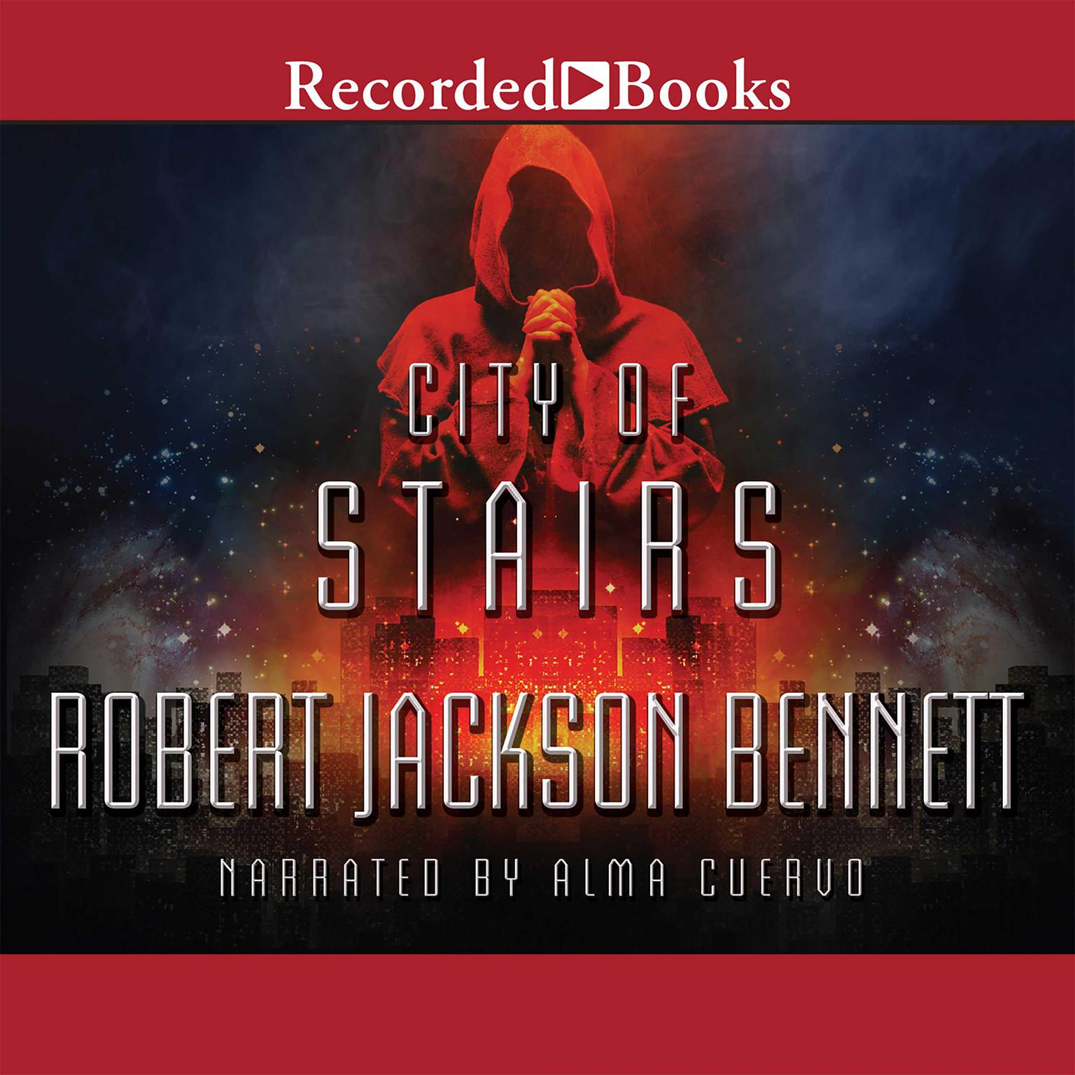 Printable City of Stairs Audiobook Cover Art
