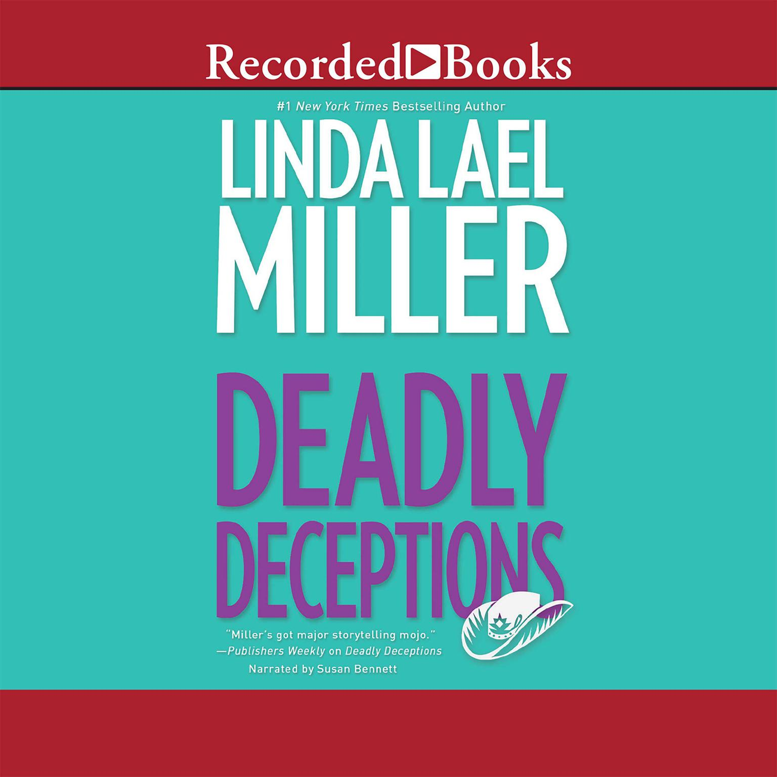Printable Deadly Deceptions Audiobook Cover Art