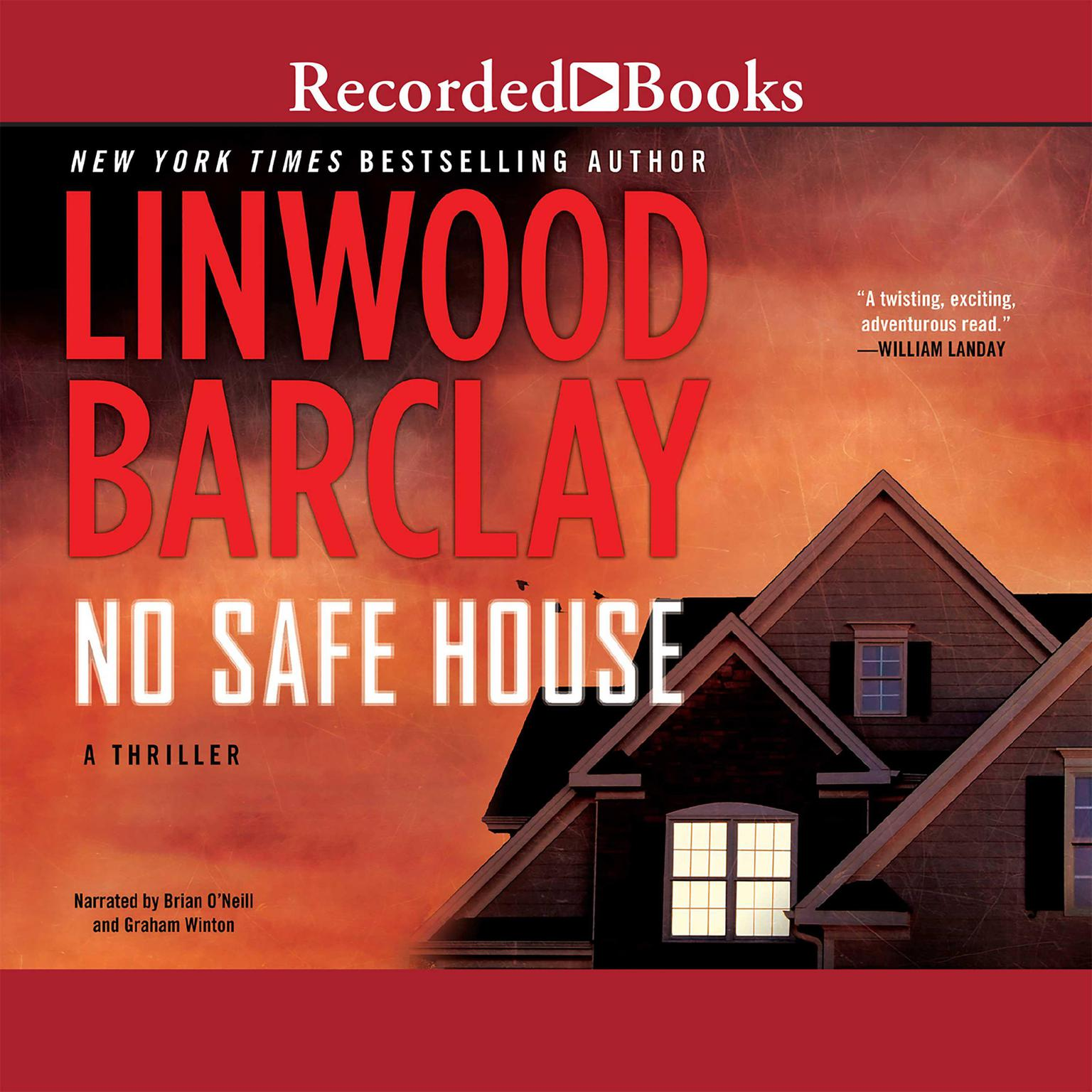 Printable No Safe House Audiobook Cover Art