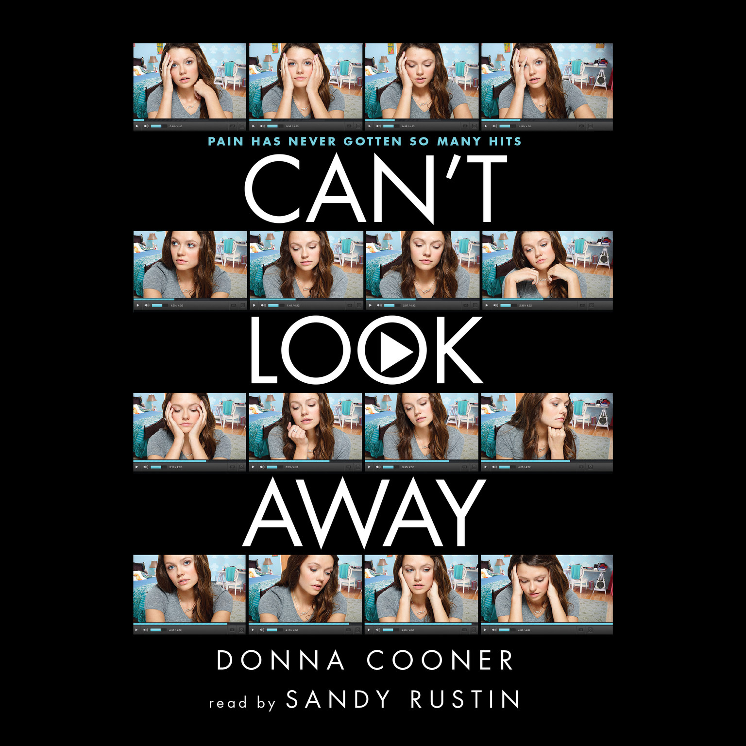 Printable Can't Look Away Audiobook Cover Art