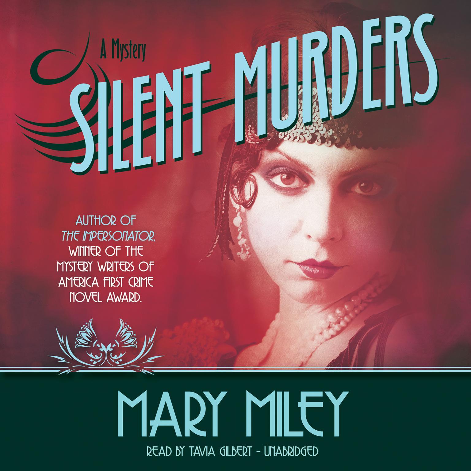 Printable Silent Murders Audiobook Cover Art