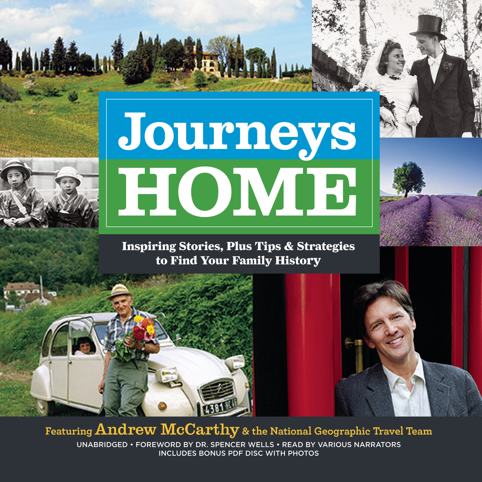 Printable Journeys Home: Inspiring Stories, plus Tips and Strategies to Find Your Family History Audiobook Cover Art