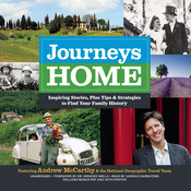 Journeys Home: Inspiring Stories, plus Tips and Strategies to Find Your Family History Audiobook, by Andrew McCarthy