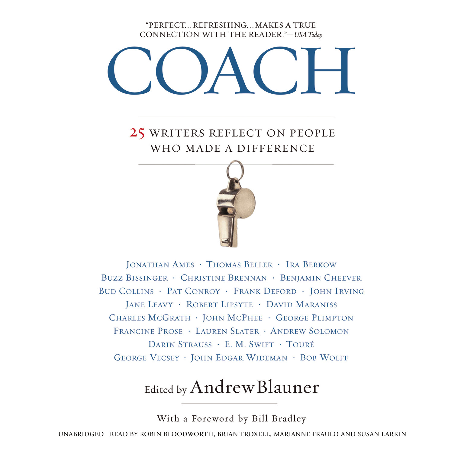 Printable Coach: 25 Writers Reflect on People Who Made a Difference Audiobook Cover Art