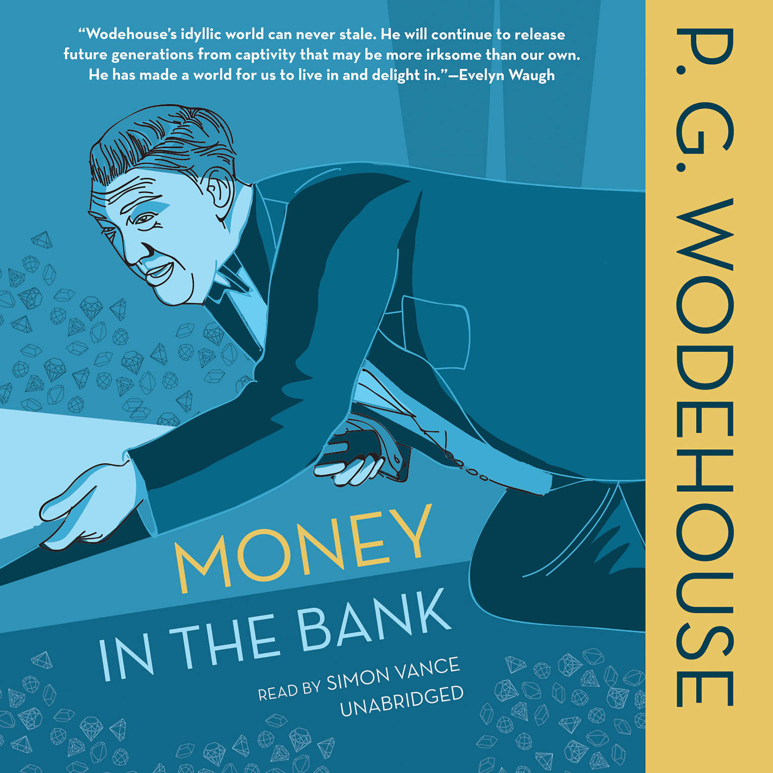 Printable Money in the Bank Audiobook Cover Art
