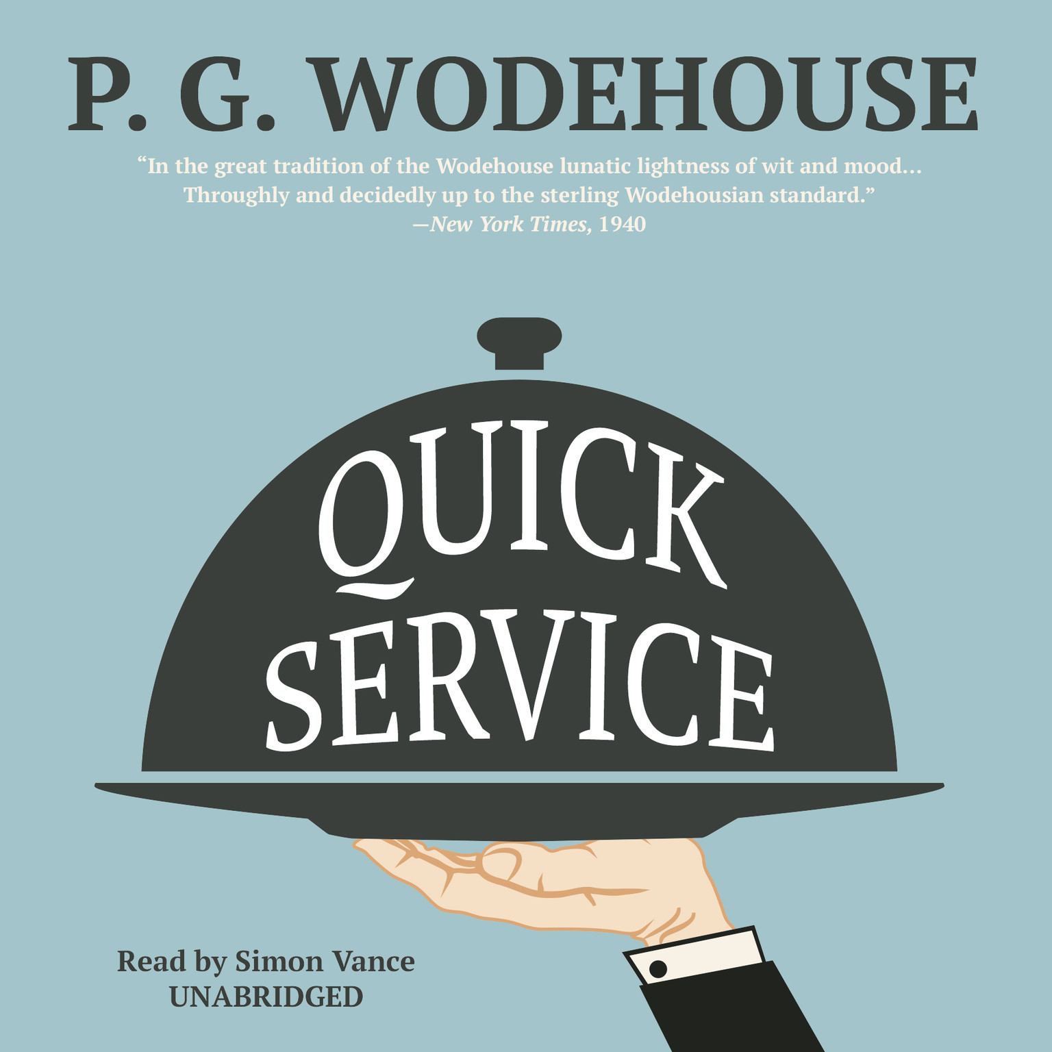 Printable Quick Service Audiobook Cover Art