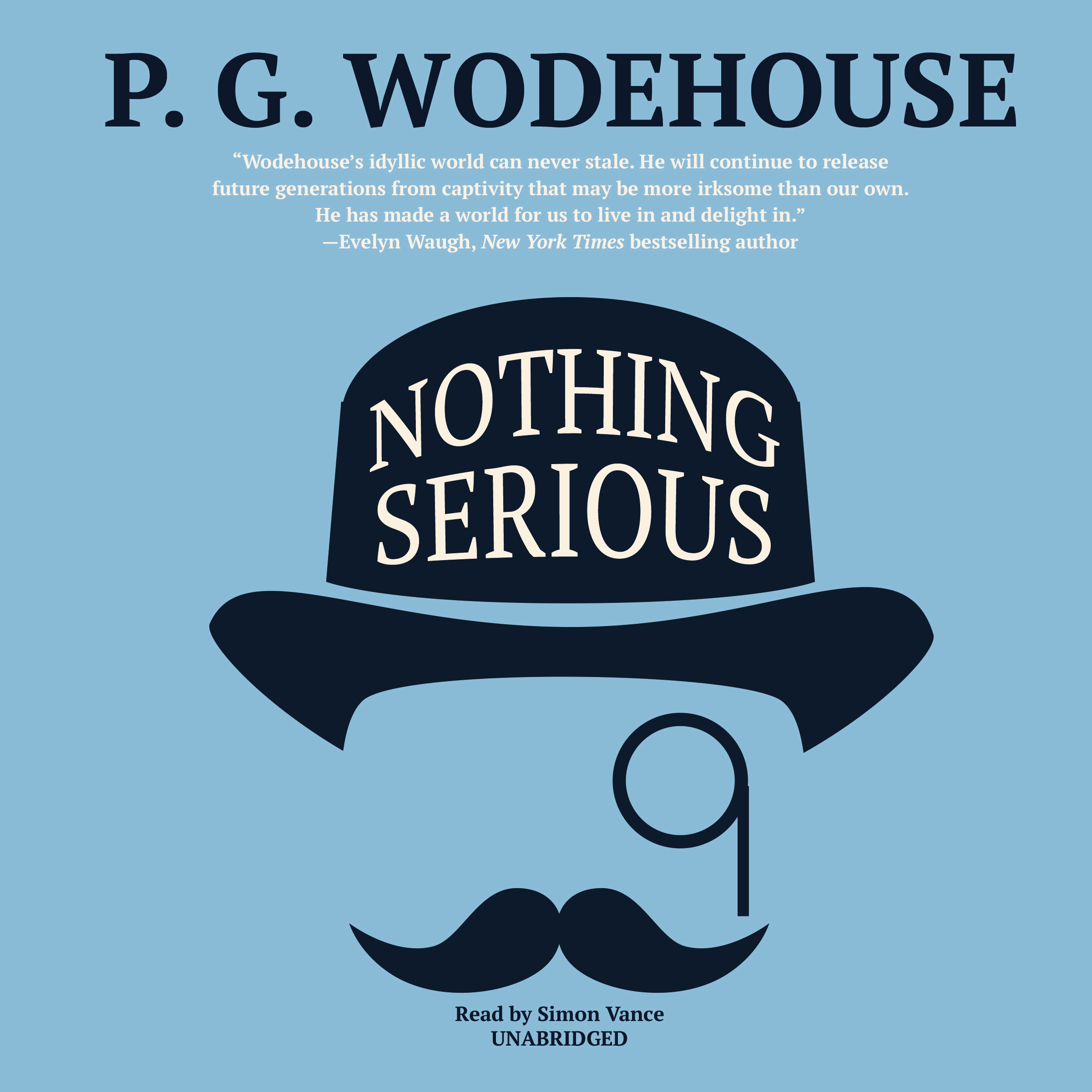 Printable Nothing Serious Audiobook Cover Art