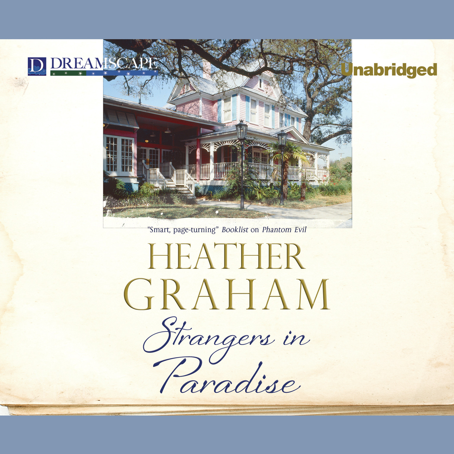 Printable Strangers in Paradise Audiobook Cover Art