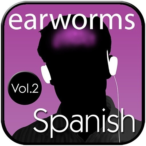Printable Rapid Spanish (European), Vol. 2 Audiobook Cover Art