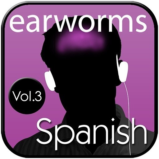 Printable Rapid Spanish (European), Vol. 3 Audiobook Cover Art
