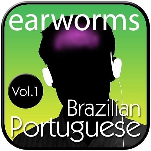 Printable Rapid Brazilian Portuguese, Vol. 1 Audiobook Cover Art