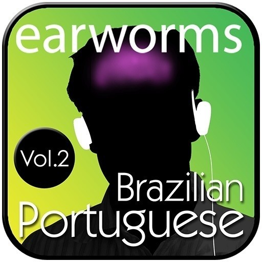 Printable Rapid Brazilian Portuguese, Vol. 2 Audiobook Cover Art