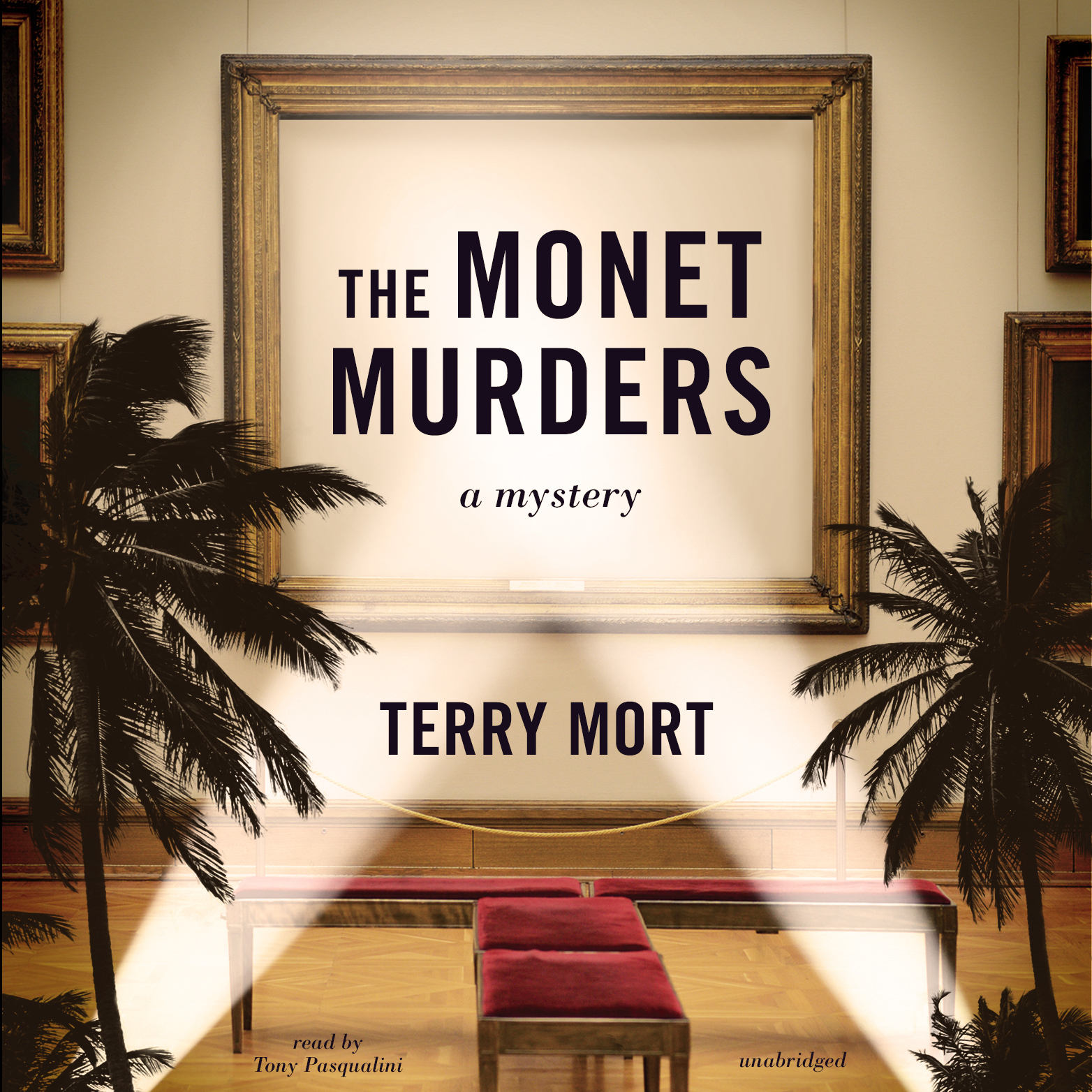 Printable The Monet Murders Audiobook Cover Art