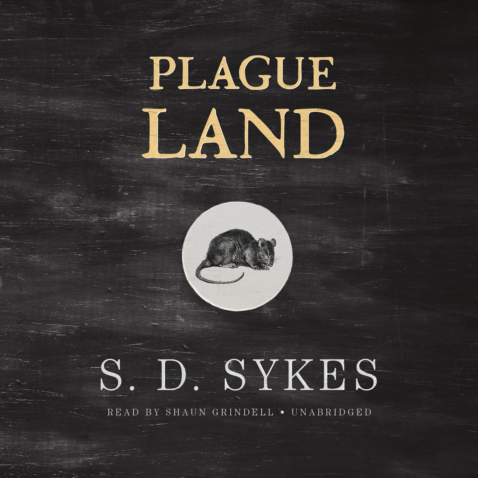 Printable Plague Land Audiobook Cover Art