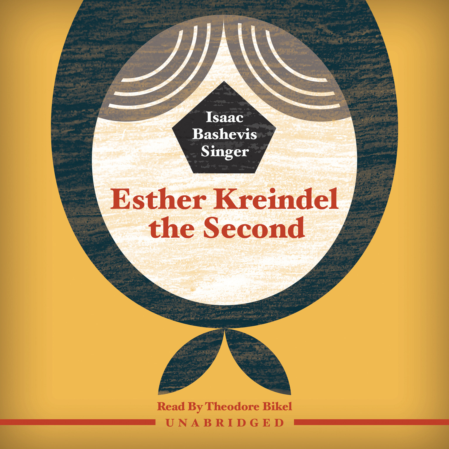 Printable Esther Kreindel the Second Audiobook Cover Art