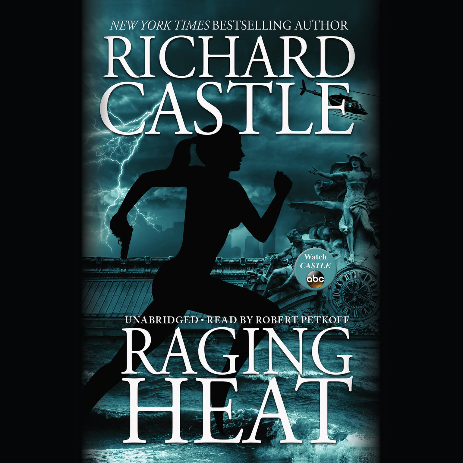 Printable Raging Heat Audiobook Cover Art