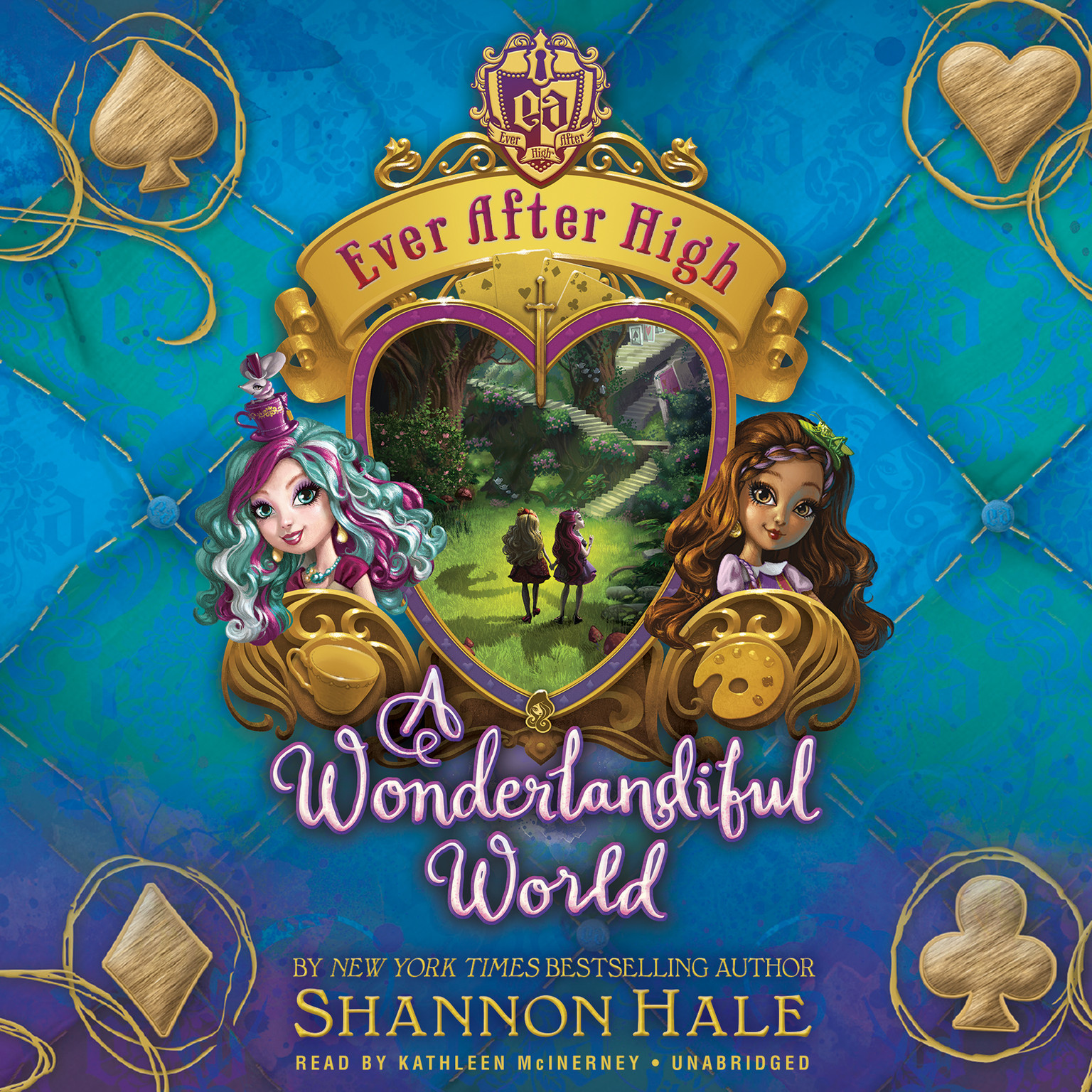 Printable Ever After High: A Wonderlandiful World Audiobook Cover Art