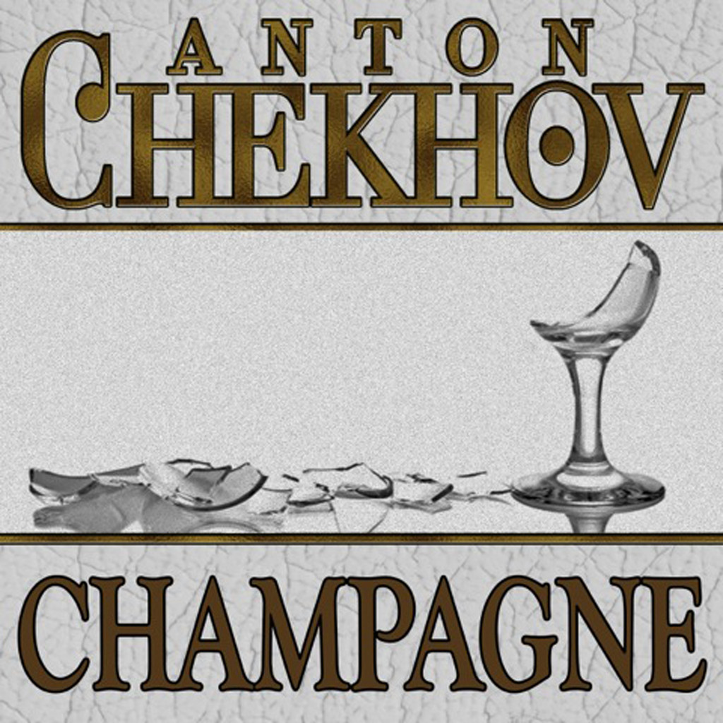 Printable Champagne Audiobook Cover Art