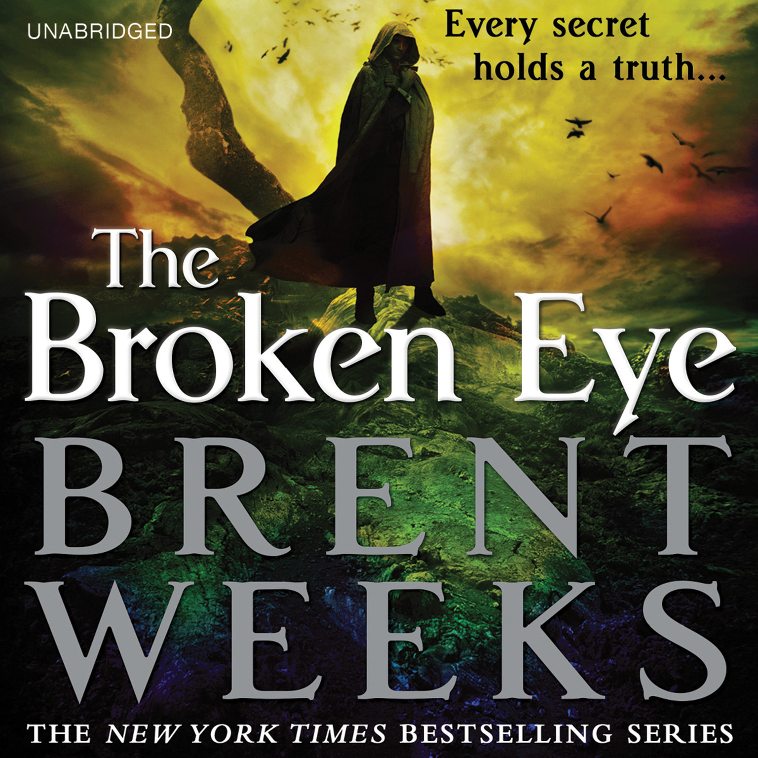 Printable The Broken Eye Audiobook Cover Art