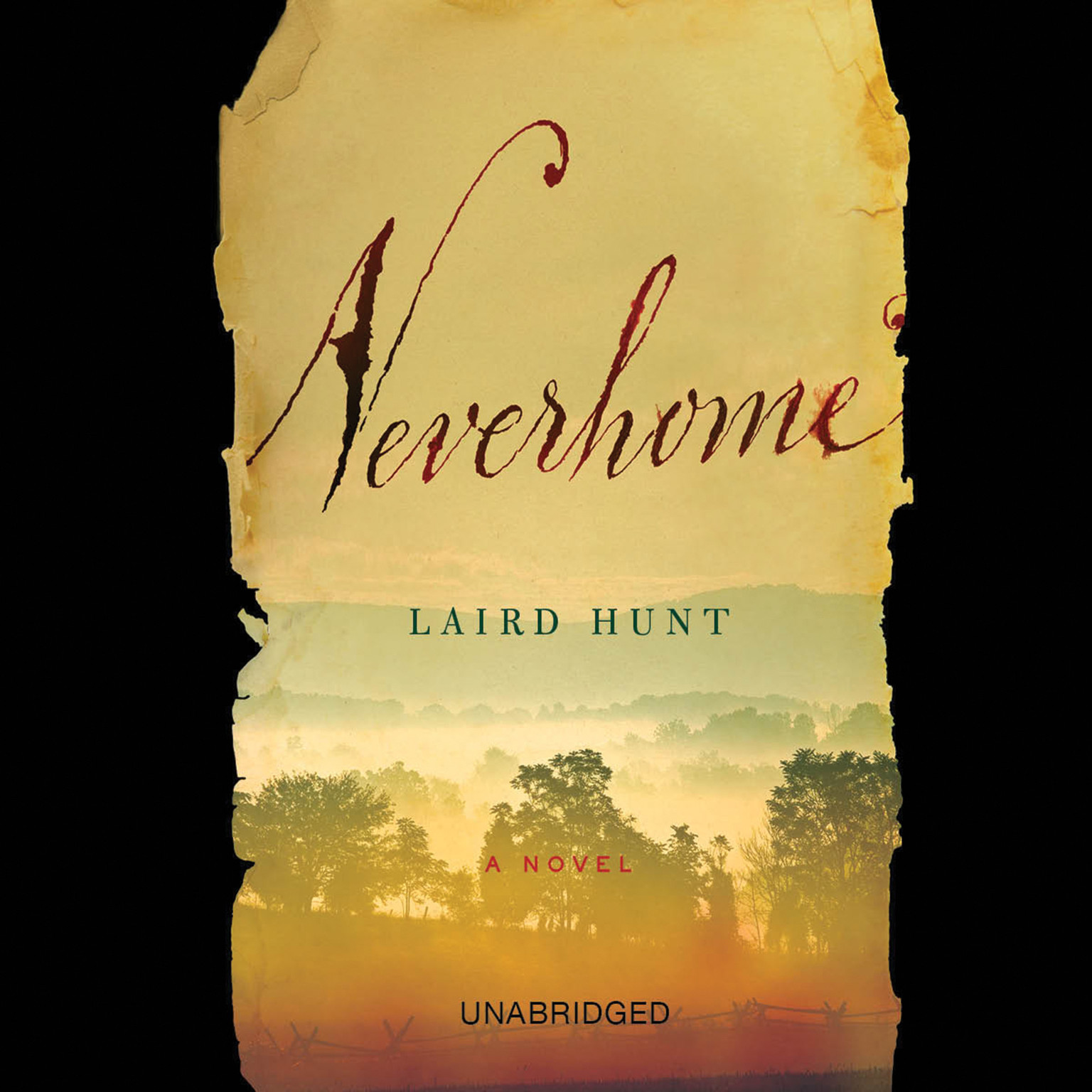 Printable Neverhome: A Novel Audiobook Cover Art
