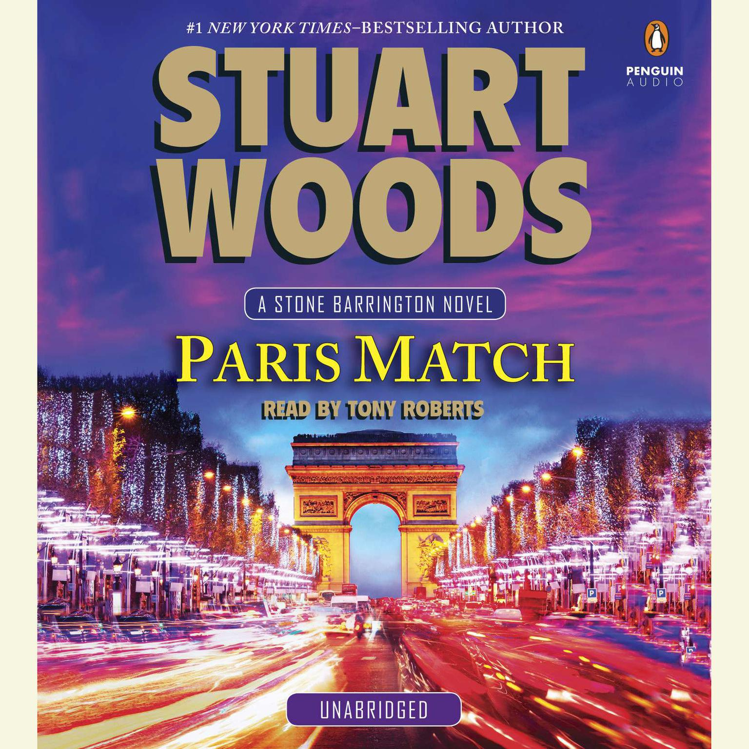 Printable Paris Match Audiobook Cover Art