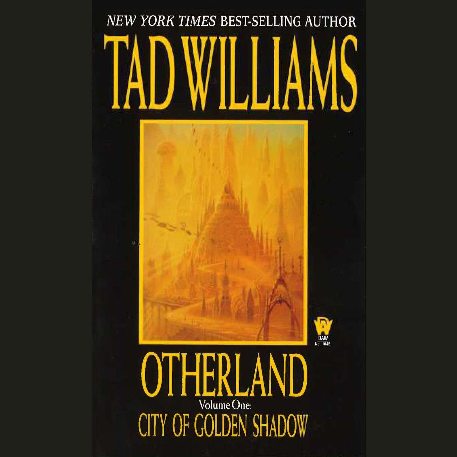 Printable City of Golden Shadow Audiobook Cover Art