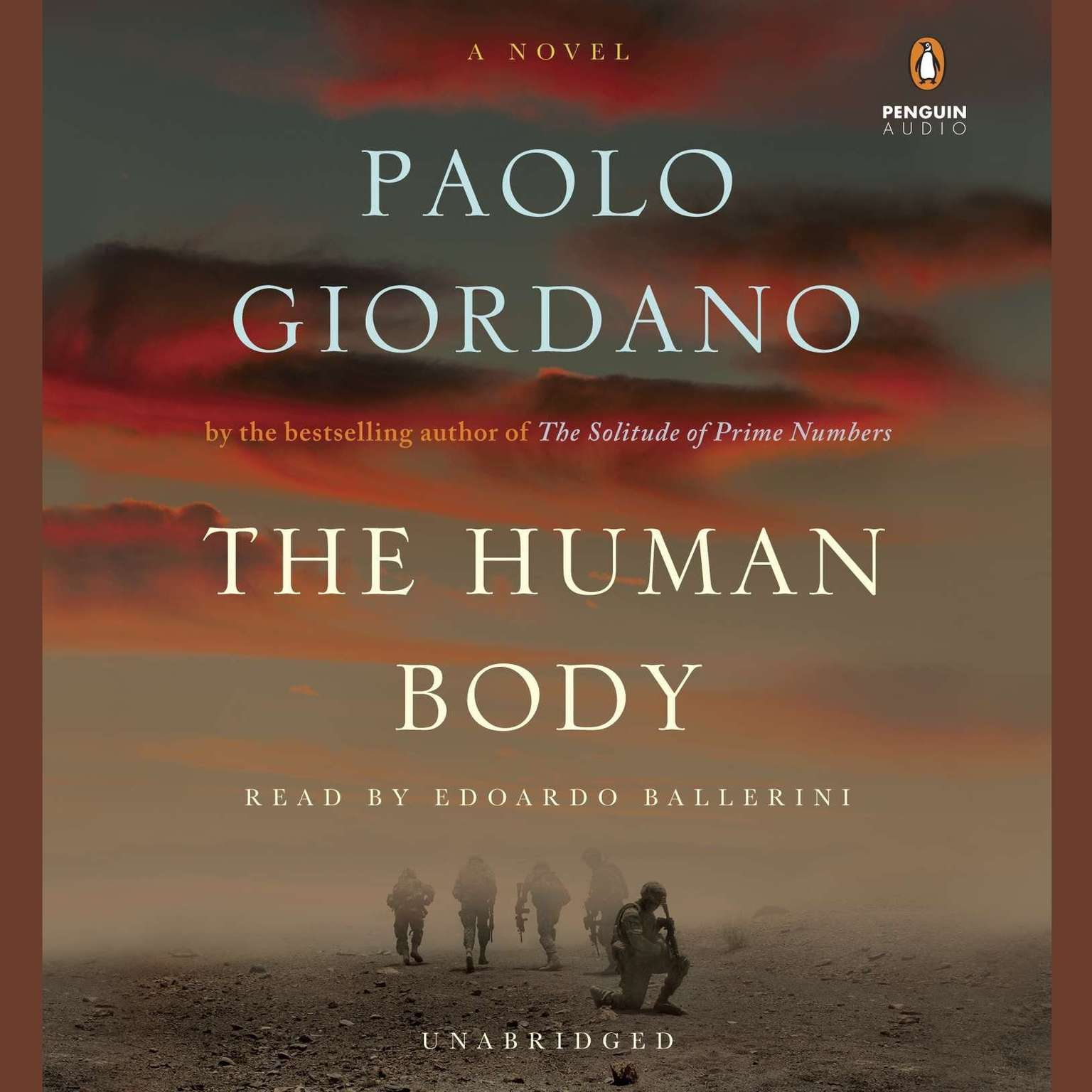 Printable The Human Body: A Novel Audiobook Cover Art