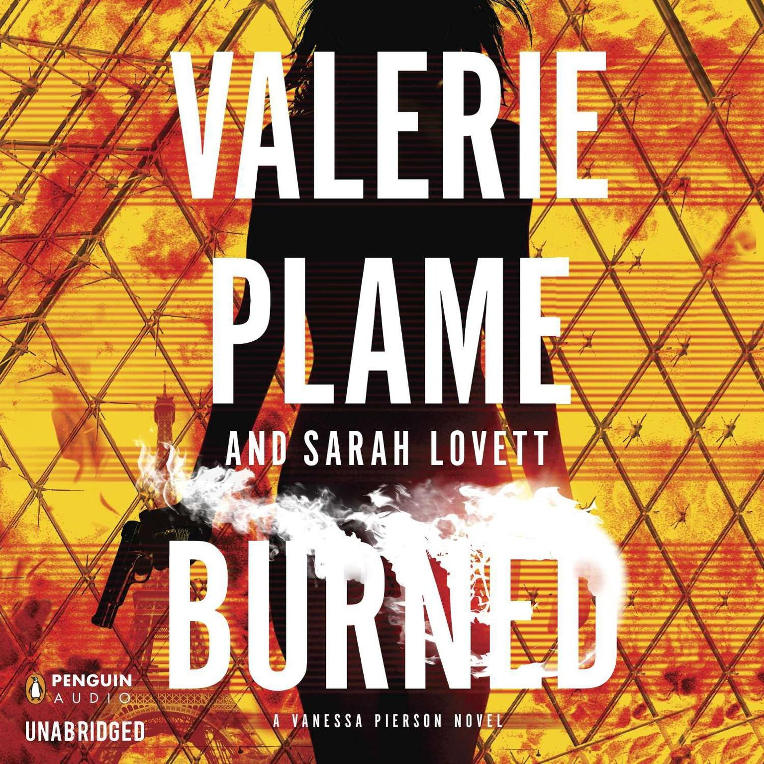 Printable Burned Audiobook Cover Art