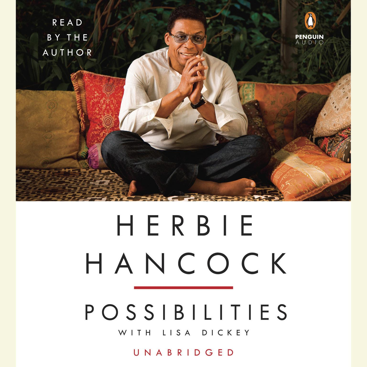 Printable Herbie Hancock: Possibilities: Possibilities Audiobook Cover Art