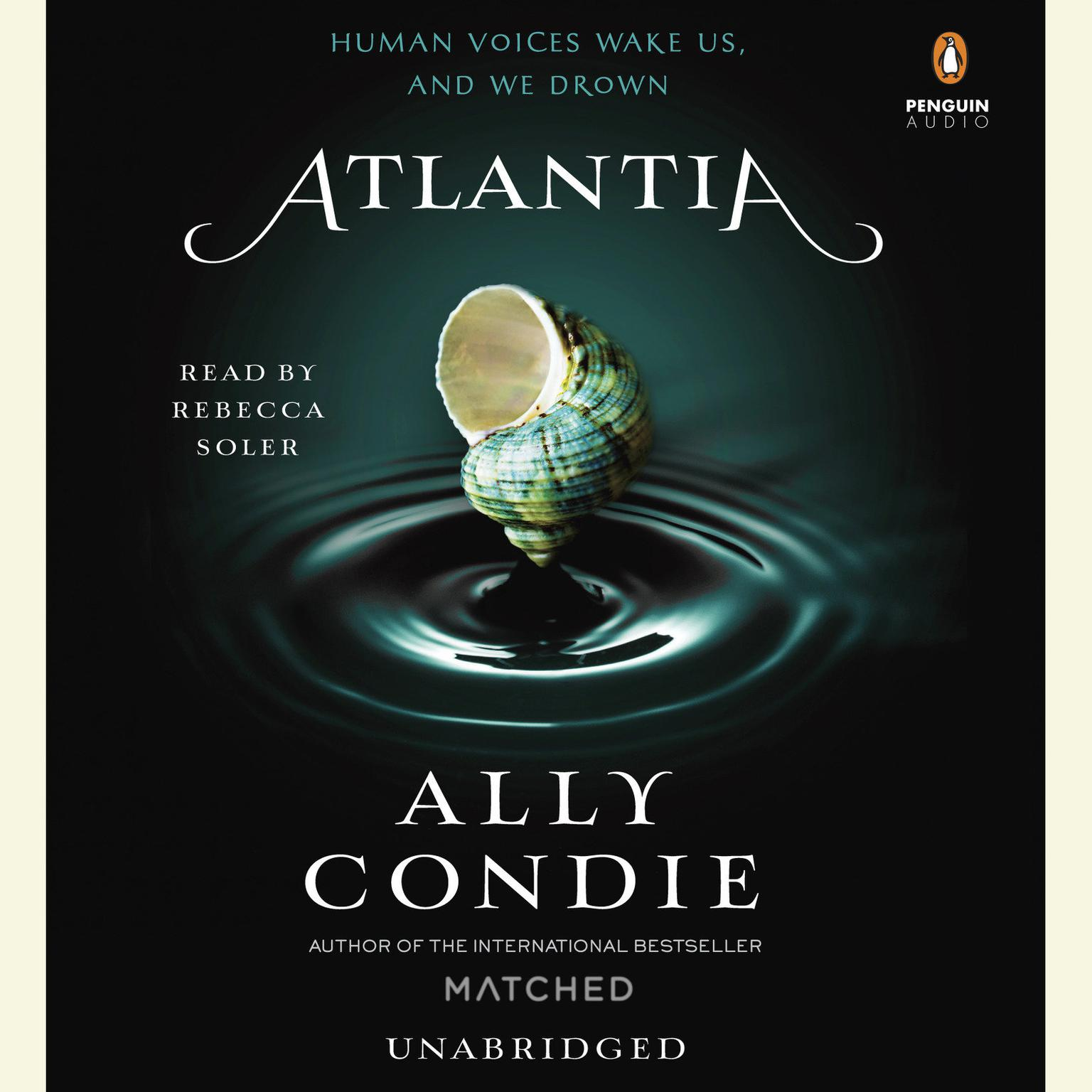 Printable Atlantia Audiobook Cover Art