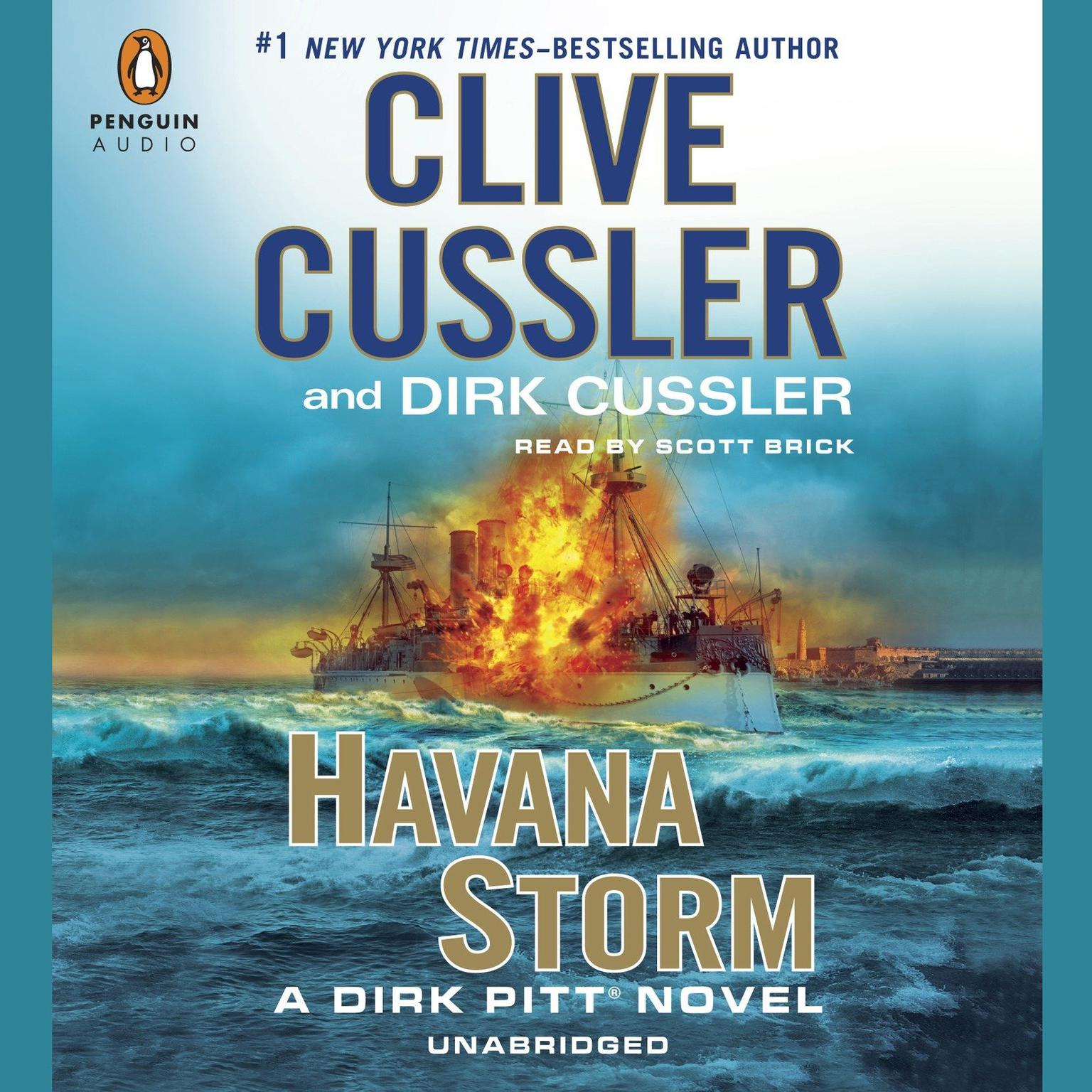 Printable Havana Storm: A Dirk Pitt Adventure Audiobook Cover Art