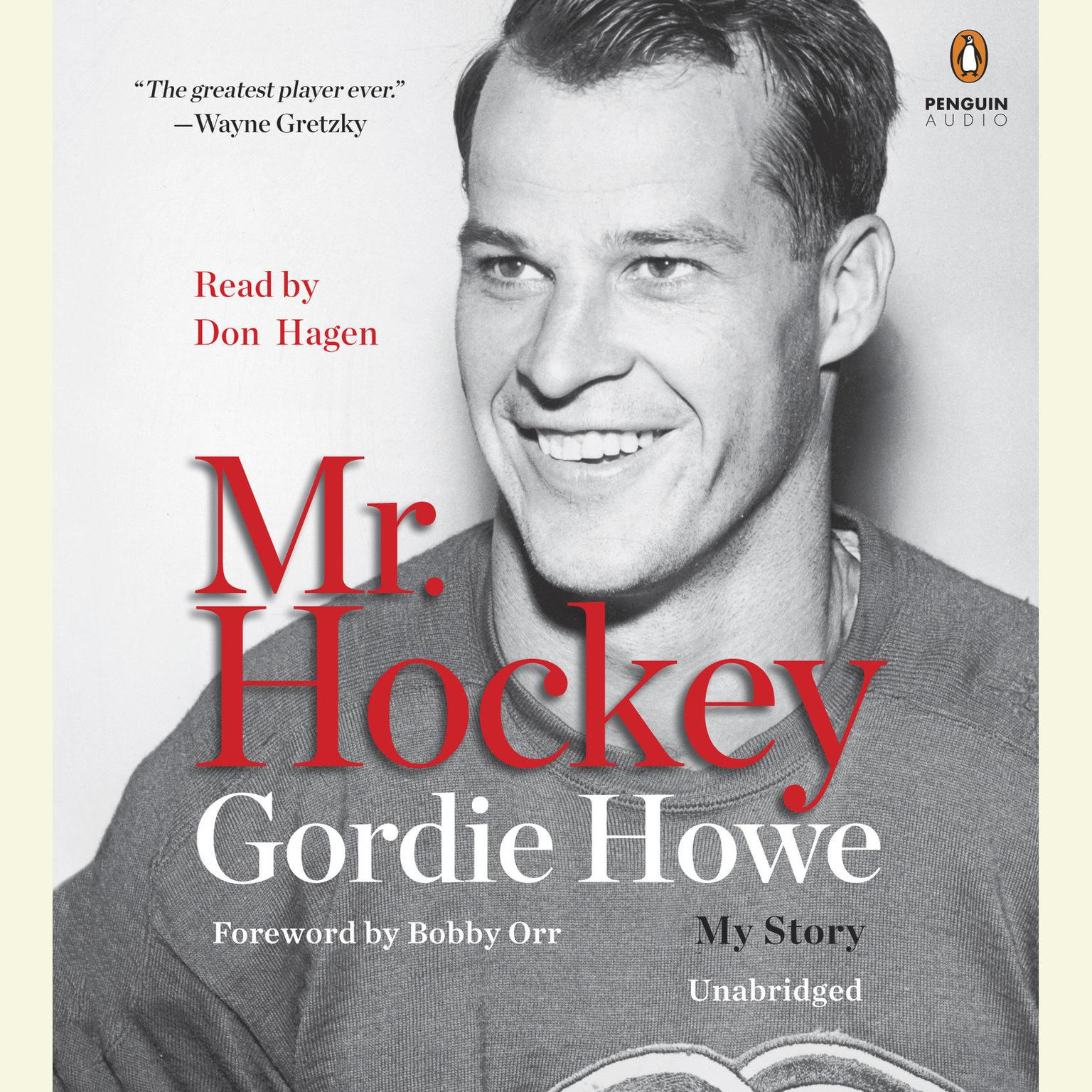 Printable Mr. Hockey: My Story Audiobook Cover Art