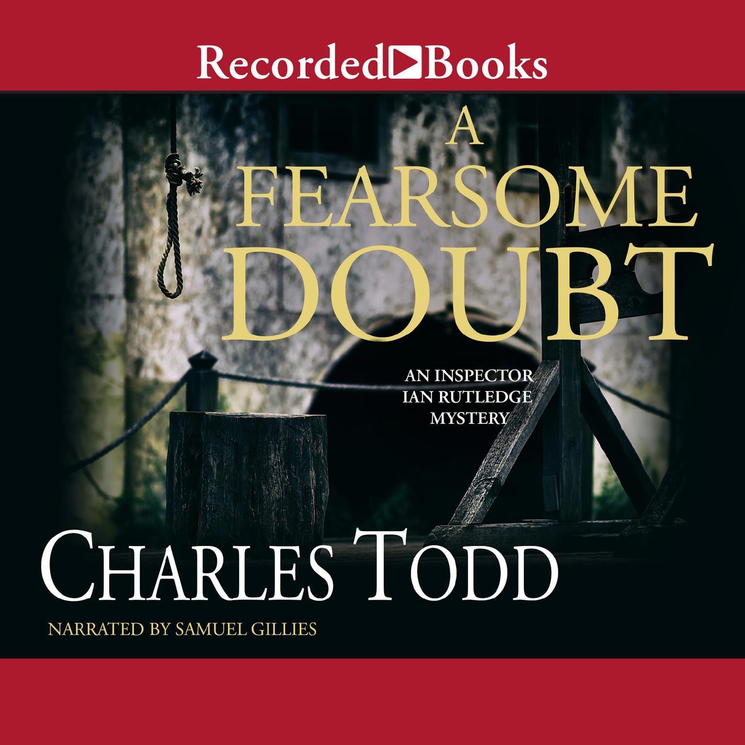 Printable A Fearsome Doubt Audiobook Cover Art