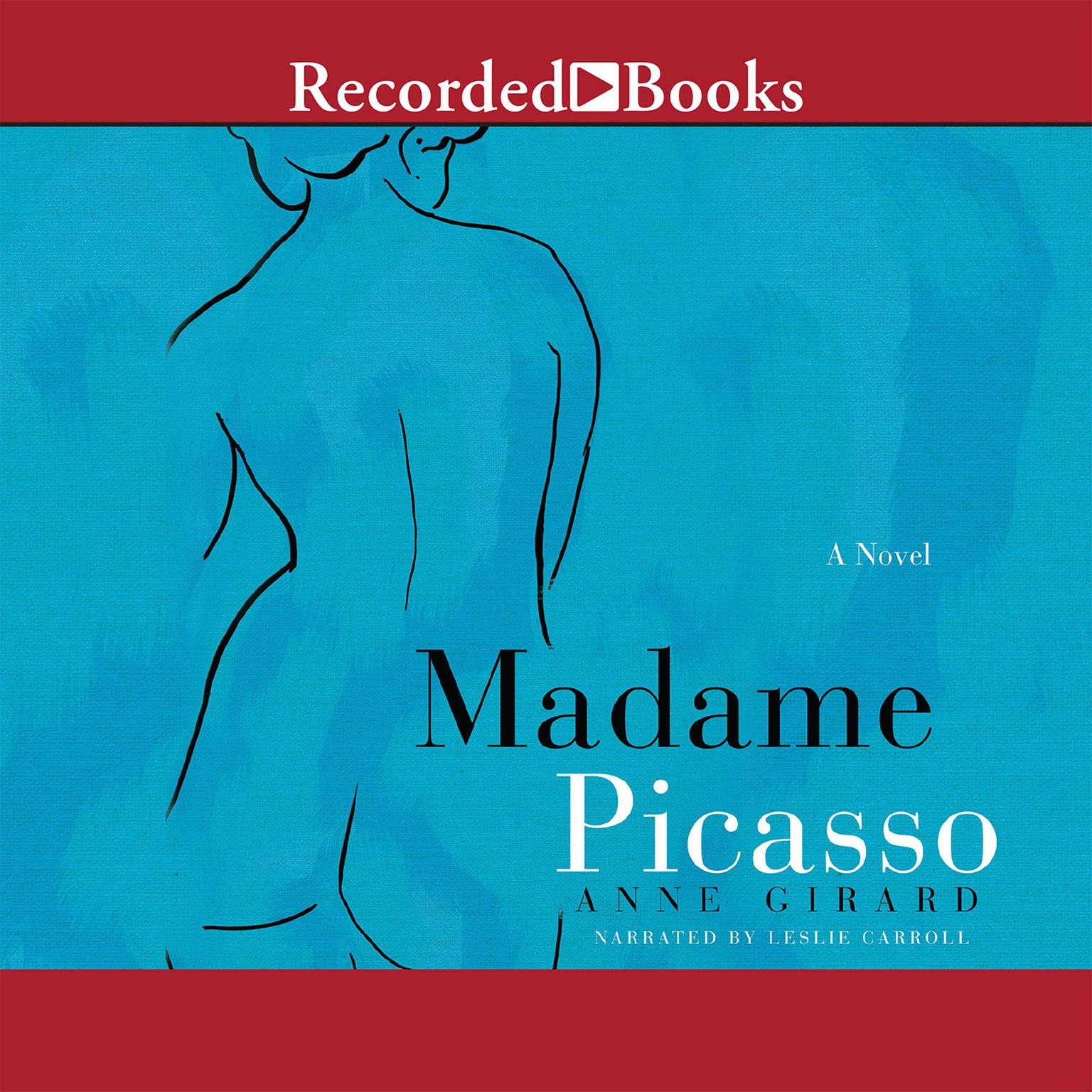 Printable Madame Picasso Audiobook Cover Art